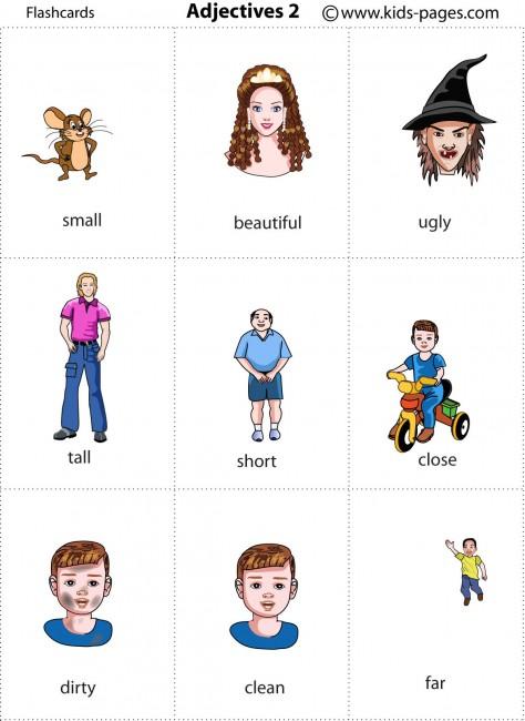 Adjectives 2 flashcard