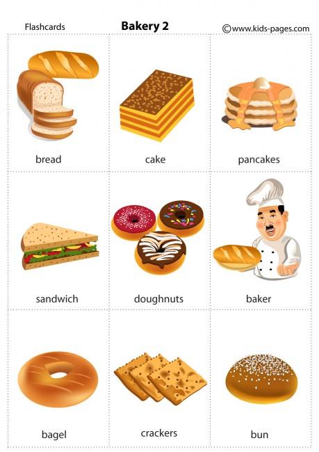 Bakery 2 Flashcard