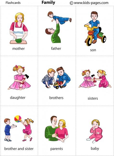Family 1 flashcard