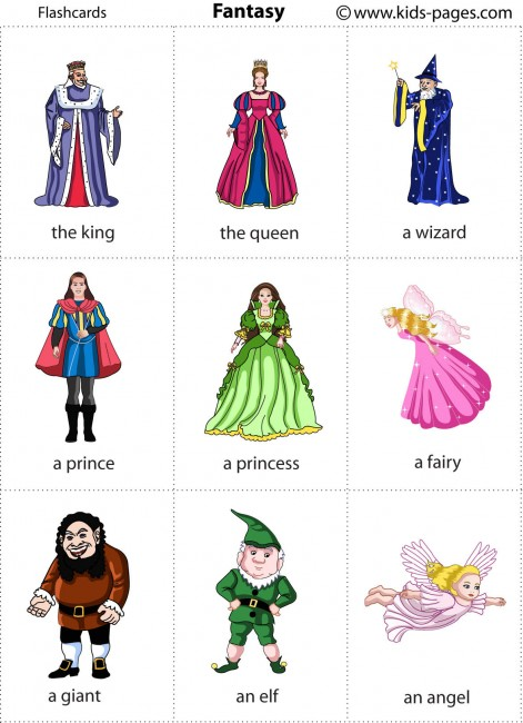 Fantasy And Fairy Tales1 flashcard