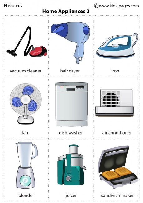 Home Appliances 2 Flashcard