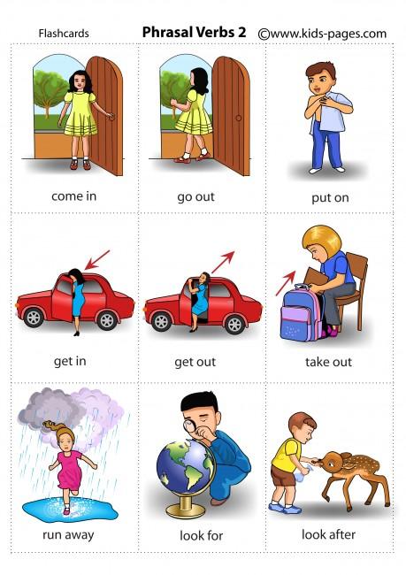 Phrasal Verbs 2 flashcard