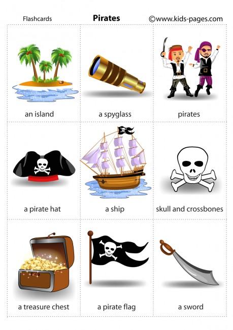 Pirates 1 flashcard