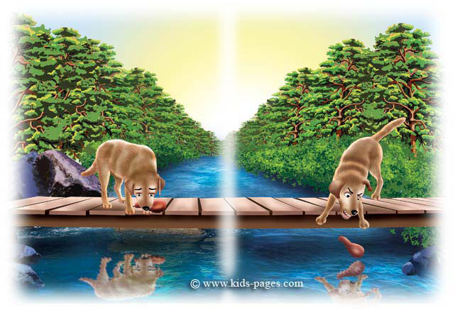 Aesop's Fables - The Dog and His Reflection