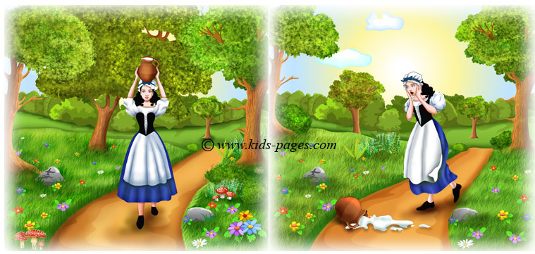 aesops fables 2 the milkmaid and her pail