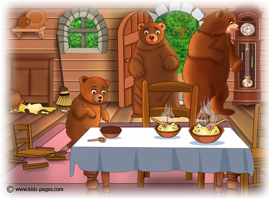 goldilocks and the three bears 6. Black Bedroom Furniture Sets. Home Design Ideas