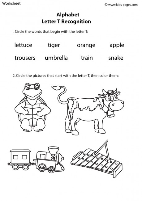 Letter A Pictures For Kids