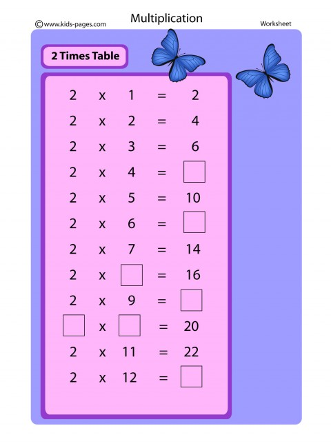 Color By Number Multiplication - Best Coloring Pages For Kids | 650x480