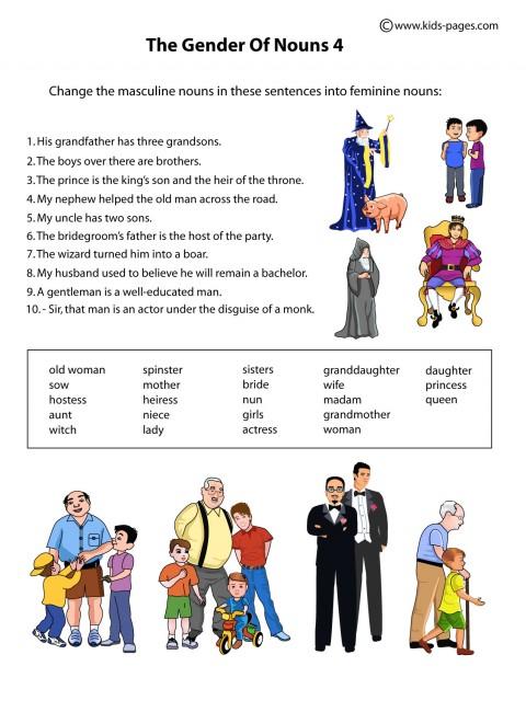 Grammar For Kids Worksheets Free Pdf